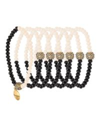 Camila Klein - Multicolor Strass Embellishment Bracelet Set - Lyst
