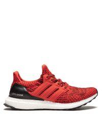 メンズ Adidas Ultraboost スニーカー Red