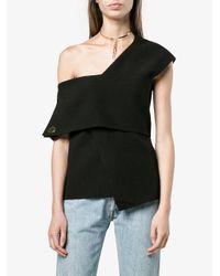 Rejina Pyo Black Willow Off-shoulder Top