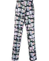 Pantaloni sportivi con stampa di Palm Angels in Multicolor