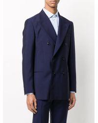メンズ Mp Massimo Piombo ダブルジャケット Blue