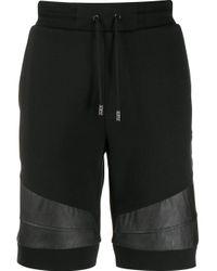 Спортивные Шорты С Контрастными Полосками Philipp Plein для него, цвет: Black