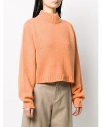 The Row カシミア タートルネックセーター Orange