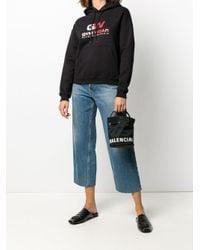 Balenciaga ウィール バケットバッグ Xs Black