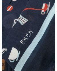 Écharpe Coffee Fefe pour homme en coloris Blue
