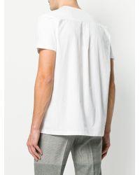 Karl Lagerfeld - White Captain Karl Bird Patch T-shirt for Men - Lyst