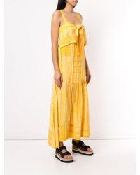 Vestido de fiesta de rayas 3.1 Phillip Lim de color Yellow