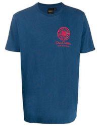 メンズ Deus Ex Machina Biarritz Address Tシャツ Blue