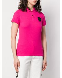Rossignol パッチ ポロシャツ Pink