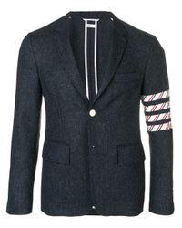 メンズ Thom Browne 4-bar Donegal Tweed Sport Coat Multicolor