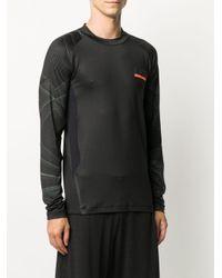メンズ EA7 プリント Tシャツ Black