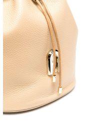 Сумка-ведро С Логотипом Furla, цвет: Brown