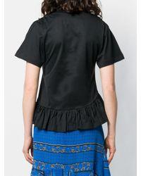 Marques'Almeida シャーリング Tシャツ Black