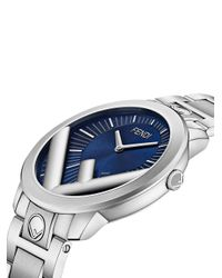 メンズ Fendi ラナウェイ 腕時計 Blue
