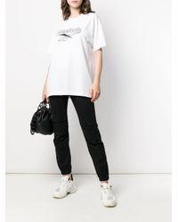Reebok ロゴプリント Tシャツ White