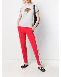 Суженные Книзу Спортивные Брюки Calvin Klein, цвет: Red