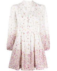 Zimmermann フローラル ドレス Multicolor