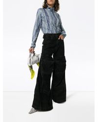 Jeans svasati di Y. Project in Black