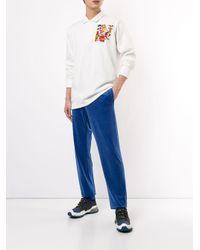 Rowing Blazers Besticktes Poloshirt in White für Herren