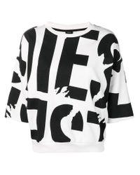 T-shirt con stampa di DIESEL in Black