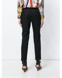 Etro Black Cigarette Trousers