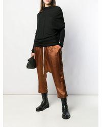 Rick Owens ドレープ セーター Black