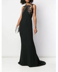 Stella McCartney レース イブニングドレス Black