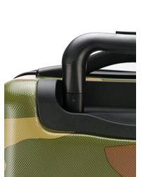 Herschel Supply Co. カモフラージュ スーツケース Green
