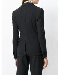 Tonello - Black Buttoned Blazer - Lyst