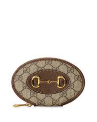 Porte-monnaie 1955 Horsebit Gucci en coloris Brown