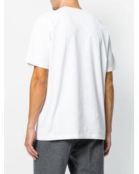 メンズ Versace Greek プリントtシャツ White