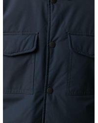 Giacca-camicia con bottoni automatici di Tommy Hilfiger in Blue da Uomo