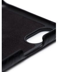 メンズ Burberry ロゴ Iphone X ケース Black