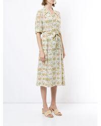 Hermès Victorian ドレス Multicolor