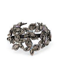 Diadema con apliques de mariposas P.A.R.O.S.H. de color Black