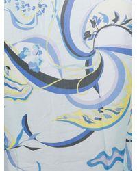 Emilio Pucci - Blue Printed Pareo - Lyst