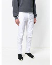 Maharishi Schmale Hose in White für Herren