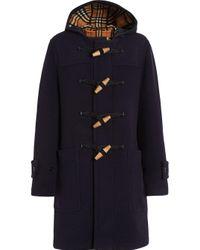 Duffle-coat classique Burberry pour homme en coloris Blue