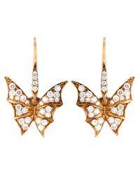 Stephen Webster - Metallic Diamond Wing Earrings - Lyst