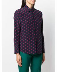 Chemise à pois PS by Paul Smith en coloris Blue