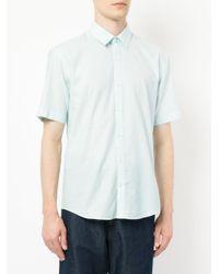 Cerruti 1881 - Green Curved Hem Shirt for Men - Lyst