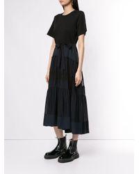 3.1 Phillip Lim レーススカート ドレス Black