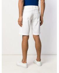 メンズ Jacob Cohen デッキショーツ&ポケットチーフ White