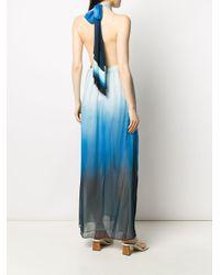 Jonathan Simkhai ホルターネック ドレス Blue