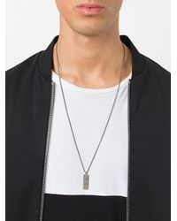 Northskull - Metallic Layers Pendant Necklace for Men - Lyst