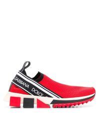 Dolce & Gabbana ソレント スニーカー Red