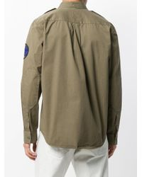 Zadig & Voltaire - Green Long-sleeve Fitted Shirt for Men - Lyst