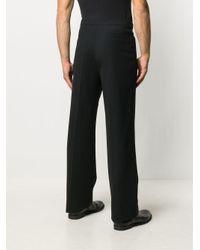 Raf Simons Black Straight-leg Trousers for men