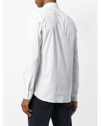 Givenchy White Slim Dress Shirt for men