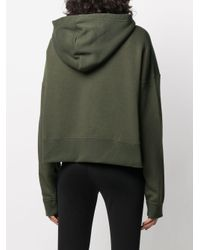 Felpa con zip di Nike in Green